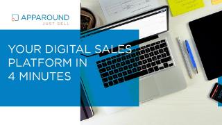 Your digital sales platform in 4 minutes