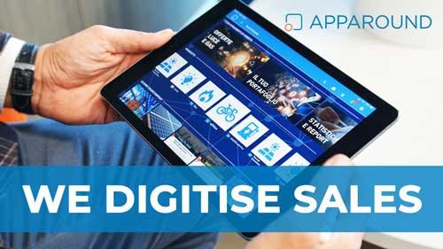Apparound | La migliore app per la forza vendita