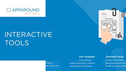 Facilita la relazione con il cliente con Interactive Tools