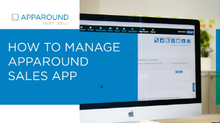 Admin Portal | How to manage Apparound sales app